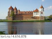 Купить «Мирский замок, Беларусь», фото № 4616878, снято 5 мая 2013 г. (c) Natalya Sidorova / Фотобанк Лори
