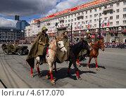 Прохождение кавалерии (2013 год). Редакционное фото, фотограф Виктор Карпов / Фотобанк Лори