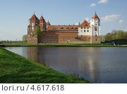 Купить «Мирский замок, Беларусь», фото № 4617618, снято 5 мая 2013 г. (c) Natalya Sidorova / Фотобанк Лори