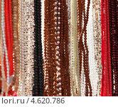 Купить «Индийские бусы на местном рынке», фото № 4620786, снято 20 ноября 2012 г. (c) photoff / Фотобанк Лори