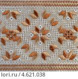 Фрагмент вышивки. Стоковое фото, фотограф Алла Руденко / Фотобанк Лори