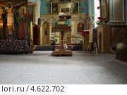 Интерьер православной церкви. Стоковое фото, фотограф Елена Григорьева / Фотобанк Лори