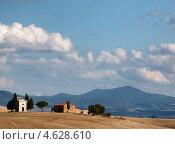 Купить «Тосканские холмы. Италия», фото № 4628610, снято 3 октября 2012 г. (c) Liseykina / Фотобанк Лори