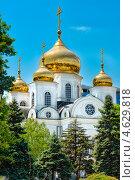 Войсковой собор князя Александра Невского - вид из Екатерининского парка. Стоковое фото, фотограф ValeriyK / Фотобанк Лори