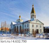 Церковь Покрова Пресвятой Богородицы (2012 год). Стоковое фото, фотограф Дина Евсеева / Фотобанк Лори