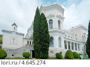 Купить «Фасад Большого дворца в Ливадии, Ялта, Крым, Украина», фото № 4645274, снято 16 мая 2013 г. (c) Некрасов Андрей / Фотобанк Лори