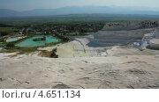Купить «Панорама Памуккале, Турция», видеоролик № 4651134, снято 20 мая 2013 г. (c) Михаил Коханчиков / Фотобанк Лори