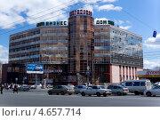 Челябинск, Бизнес Дом Спиридонов (2013 год). Редакционное фото, фотограф Алексей Кирюшкин / Фотобанк Лори
