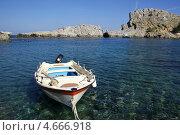 Лодка. Стоковое фото, фотограф Илья Хаскин / Фотобанк Лори