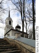 Купить «Святогорский монастырь, Псковская область», эксклюзивное фото № 4667778, снято 20 апреля 2013 г. (c) Дмитрий Неумоин / Фотобанк Лори