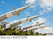 Купить «Ракеты противовоздушной обороны», фото № 4673074, снято 26 мая 2011 г. (c) Дмитрий Калиновский / Фотобанк Лори