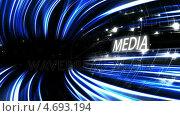 Купить «Video of a blue tunnel with text», видеоролик № 4693194, снято 27 июня 2019 г. (c) Wavebreak Media / Фотобанк Лори