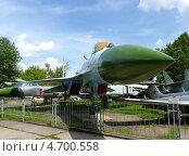 Купить «Советский истребитель в Центральном музее Вооруженных сил», фото № 4700558, снято 31 мая 2013 г. (c) Данила Васильев / Фотобанк Лори