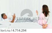 Купить «Retired couple having an argument », видеоролик № 4714294, снято 26 марта 2019 г. (c) Wavebreak Media / Фотобанк Лори