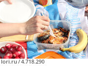На пикнике. Стоковое фото, фотограф Татьяна Вороненко / Фотобанк Лори