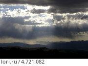 Солнечный дождь. Алтай. Стоковое фото, фотограф Михаил Плетнев / Фотобанк Лори