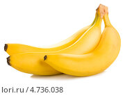 Купить «Три спелых банана», фото № 4736038, снято 5 июня 2013 г. (c) Андрей Штанько / Фотобанк Лори