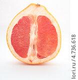 Срез грейпфрута. Стоковое фото, фотограф Сергей Катилов / Фотобанк Лори