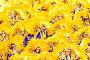 Танцоры в желтых костюмах на карнавале в Самбодромо в Рио-де-Жанейро 11 февраля 2013 г., Бразилия, фото № 4742326, снято 11 февраля 2013 г. (c) Михаил Мандрыгин / Фотобанк Лори