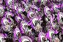 Танцоры в черно-фиолетовых костюмах на карнавале в Самбодромо в Рио-де-Жанейро 11 февраля 2013 г., Бразилия, фото № 4742346, снято 11 февраля 2013 г. (c) Михаил Мандрыгин / Фотобанк Лори