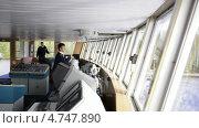 Купить «Штурман управляет лайнером», видеоролик № 4747890, снято 8 июня 2013 г. (c) Данил Руденко / Фотобанк Лори