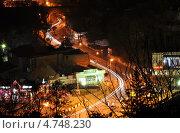 Ночное движение (2012 год). Редакционное фото, фотограф Синенко Юрий / Фотобанк Лори