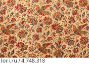Купить «Старинная ткань с рисунками», фото № 4748318, снято 2 июня 2020 г. (c) Marina Appel / Фотобанк Лори