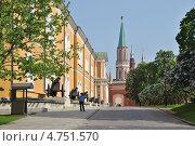 Арсенал, Никольская башня, Кремль, Москва (2013 год). Редакционное фото, фотограф lana1501 / Фотобанк Лори