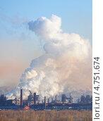 Купить «Магнитогорский металлургический комбинат», фото № 4751674, снято 8 ноября 2011 г. (c) Гладских Татьяна / Фотобанк Лори