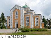 Купить «Церковь в Керимяки. Финляндия», фото № 4753030, снято 8 июня 2013 г. (c) Румянцева Наталия / Фотобанк Лори