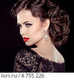 Купить «Молодая эффектная женщина», фото № 4755226, снято 13 февраля 2013 г. (c) Photobeauty / Фотобанк Лори