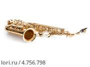 Купить «Музыкальный духовой инструмент - саксофон», фото № 4756798, снято 23 декабря 2012 г. (c) Андрей Попов / Фотобанк Лори