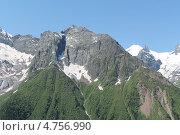 Горы Домбая. Стоковое фото, фотограф Беслан Туаршев / Фотобанк Лори