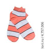 Купить «Разноцветные полосатые носки», фото № 4757006, снято 16 июня 2013 г. (c) Инна Грязнова / Фотобанк Лори