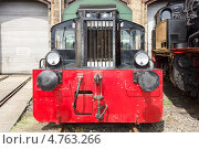 Купить «Дизель-локомотив DRG Kleinlokomotive Class I (Gmeinder)», фото № 4763266, снято 20 апреля 2013 г. (c) Sergey Kohl / Фотобанк Лори