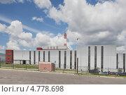 Купить «Спецзавод №4.(Мусоросжигательный завод по комплексной переработке твердых бытовых отходов) в Москве», эксклюзивное фото № 4778698, снято 19 июня 2013 г. (c) stargal / Фотобанк Лори