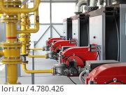 Купить «Газовые горелки в котельной», фото № 4780426, снято 27 мая 2013 г. (c) Марюнин Юрий / Фотобанк Лори