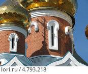 Православная церковь - тень от креста (2009 год). Стоковое фото, фотограф Константин Саночкин / Фотобанк Лори