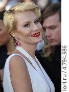 Купить «Рената Литвинова», фото № 4794986, снято 17 мая 2013 г. (c) Денис Макаренко / Фотобанк Лори