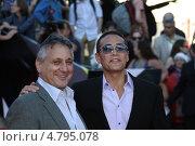 Марк Дакаскос, Mark Dacascos (2013 год). Редакционное фото, фотограф Денис Макаренко / Фотобанк Лори