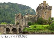 Купить «Замок Эйлен-Донан, Шотландия», фото № 4799086, снято 10 июня 2013 г. (c) Natalya Sidorova / Фотобанк Лори