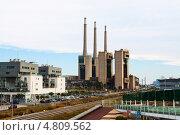 Купить «Закрытая тепловая электростанция в Барселоне», фото № 4809562, снято 13 июня 2013 г. (c) Яков Филимонов / Фотобанк Лори