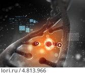 Купить «Коллаж на тему биологии и генетики с молекулой ДНК», фото № 4813966, снято 19 февраля 2020 г. (c) Sergey Nivens / Фотобанк Лори