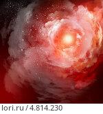 Купить «Облака и туманности открытого космоса», фото № 4814230, снято 22 июля 2018 г. (c) Sergey Nivens / Фотобанк Лори