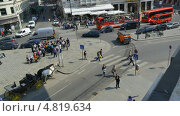 Площадь перед музеем Альбертина в Вене. Тайлапс. Редакционное видео, видеограф Виктор Тараканов / Фотобанк Лори
