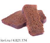Три корочки ржаного хлеба. Стоковое фото, фотограф Литвяк Игорь / Фотобанк Лори