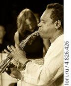 Купить «Саксофонист Эрнан Джей Родригес (США, Нью-Йорк) на сцене в рамках «Первого международного фестиваля джазовой импровизации», Одесса, Украина», фото № 4826426, снято 7 июня 2013 г. (c) Александр Лесик / Фотобанк Лори