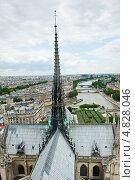 Купить «Вид на Париж с собора Нотр-Дам-де-Пари», фото № 4828046, снято 25 июня 2013 г. (c) Екатерина Овсянникова / Фотобанк Лори