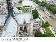 Купить «Вид на Париж с Нотр-Дам-де-Пари», фото № 4828054, снято 25 июня 2013 г. (c) Екатерина Овсянникова / Фотобанк Лори