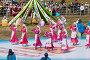 Праздник Сабантуй. Татарский национальный костюм. Танец, эксклюзивное фото № 4828058, снято 15 июня 2013 г. (c) Кучкаев Марат / Фотобанк Лори
